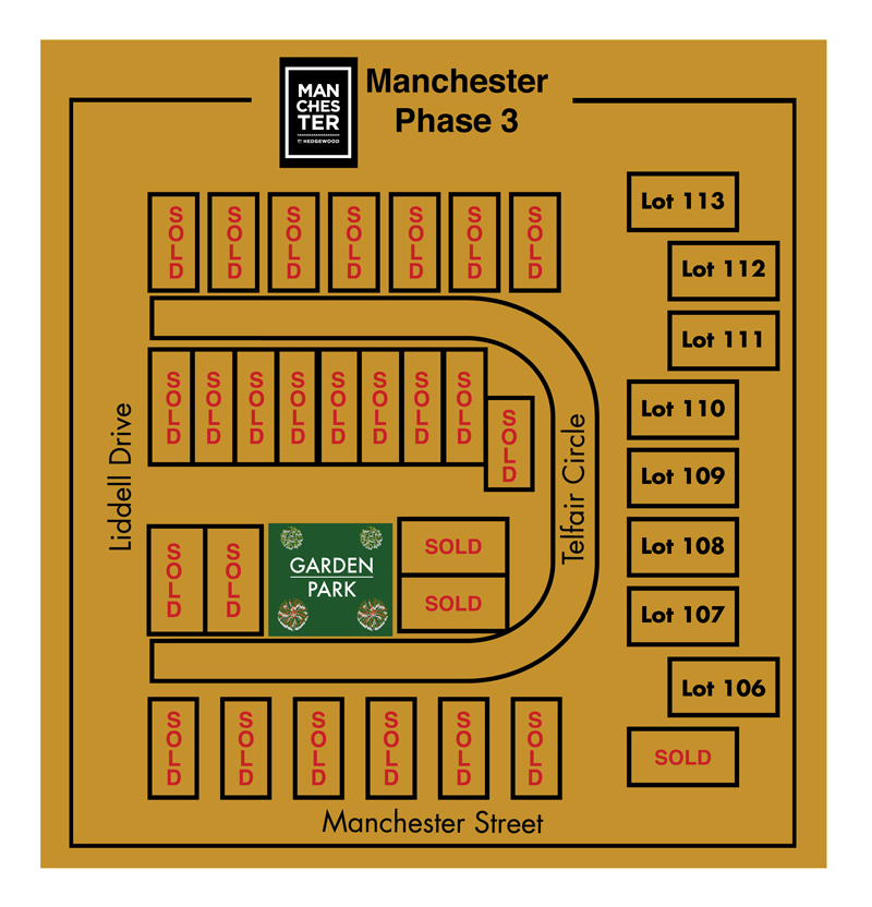 manchester site plan
