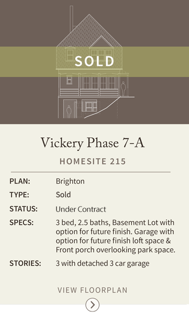 vickery homesite 215sold